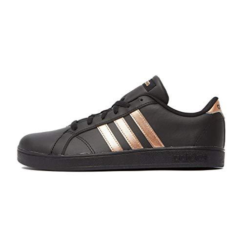 Adidas Baseline K, Zapatillas de Deporte Unisex niño, Multicolor (Ftwbla/Dormat/Negbas 000), 30.5 EU