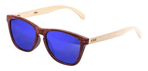 Ocean Sunglasses Ski Gafas de Sol Polarized Sea Wood (55 mm) Marrón