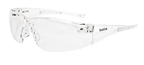 Bollé RUSH - Gafas de seguridad y de sol con cordón para el cuello