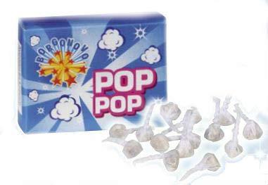 Zeus Party 250 Pop Pop Scoppiettanti per Bambini Capodanno