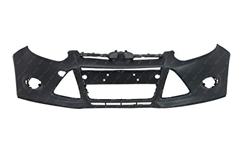 BUMPERS THAT DELIVER - Painted to Match, Front Bumper Cover Fascia for 2012 2013 2014 Ford Focus Sedan/Hatchback 12 13 14, FO1000664