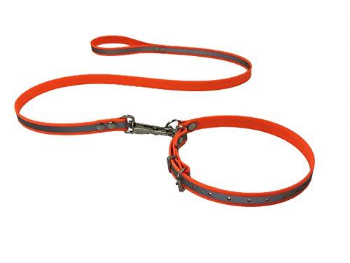 Biothane® Beta Reflective Befreiungsleine Rettungshundeleine Typ 1, 19mm x 120cm Gr.1, Reflektierend - viele Farben!