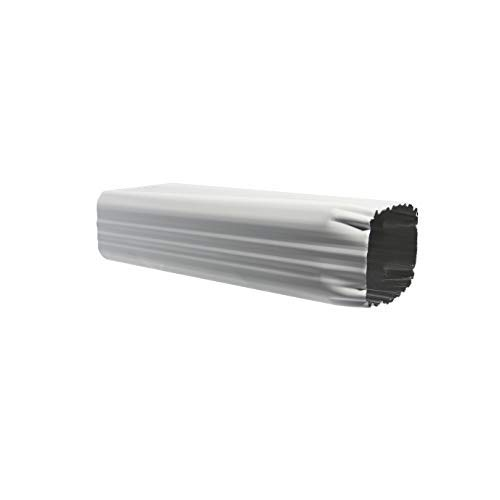 """Eagle 1 White Aluminum Downspout Extensions (Multiple Sizes) with 3 Free Matching Screws and 1 Free 1/4"""" Chuck (45, 3 X 4)"""