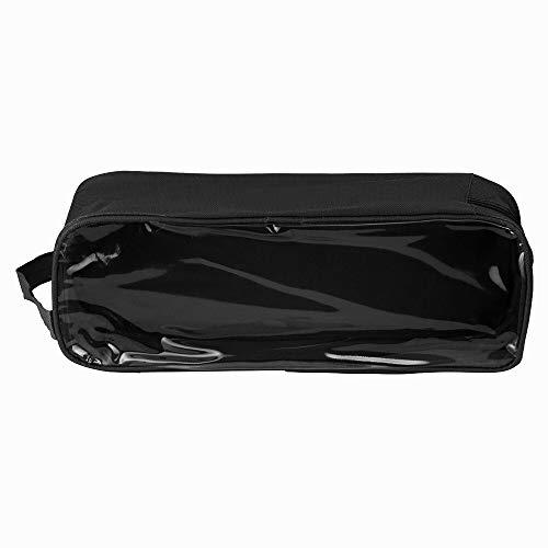 Aufbewahrungstasche Fußballschuh Schuhe Taschen Sport Rugby Hockey Travel Carry-Speicher-Fall Wasserdichtes Schuh Speicher-Beutel Reißverschluss-Verschluss Nylon-Speicher-Beutel ( Color : Black )