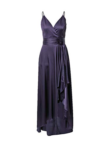Chi Chi London Damen Abendkleid dunkellila 12 (40)