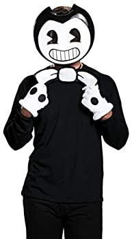 Disguise Men s Bendy Costume Kit Black One Size Adult