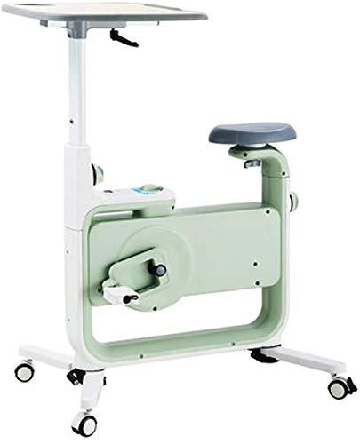 Indoor-Heimtrainer Indoor-Radfahren, einstellbarer Widerstand Sitztischhöhe, Computer liest Geschwindigkeitsentfernungszeit, drehendes Fahrrad für den Heimgebrauch Cardio-Training, maximale Tragfähig