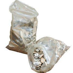 20 Sacchi polietilene 45x70 per calcinacci macerie e scarti da edilizia ultra resistenti