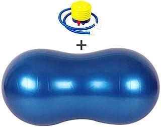 Yoga ball Explosion-Proof Yoga Balls-peanut ball -Exercise Balls with Air pump, Pilates Weight Loss Balance Core Strength ...