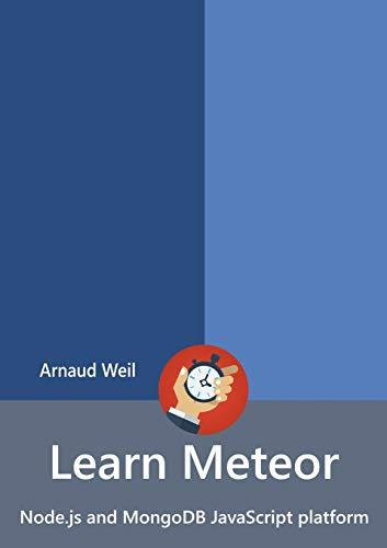 Learn Meteor - Node.js and MongoDB JavaScript platform
