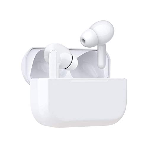 IDAKODU IPX5 Waterproof Bluetooth Earbuds, True Wireless Earbuds, 12H Cyclic Playtime Headphones with Charging Case and mic for iPhone Android, in-Ear Stereo Earphones Headset for Sport - White