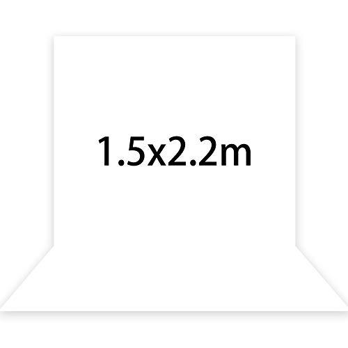 Kate 1,5x2,2m Foto Hintergrund Fotografie Reines Weiß Foto Hintergrund Professionell fotohintergrund Hochzeit Microfiber Foto Leinwand