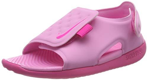 Nike Sunray Adjust 5 (TD), Scarpe da Spiaggia e Piscina Bambino, Multicolore (Psychic Pink/Laser Fuchsia 601), 25 EU