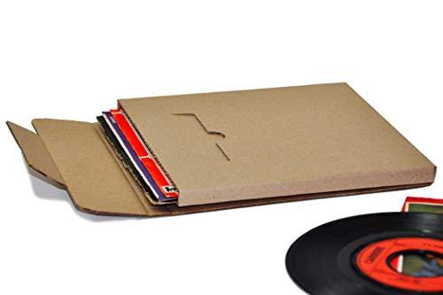 Protected Single Schallplatten Versandkartons (50 Stück)