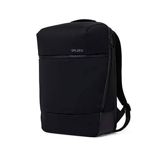 SALZEN Business Backpack - Businessrucksack - Phantom Black - Black