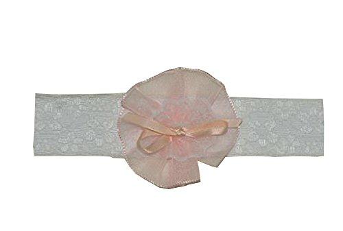 Lot de 2 magnifiques bébé fille Bandeau fleur bambins Apparel accessoire Rose 1 ~ 2Y