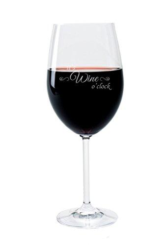 Leonardo rotweinglas 470ml individual grabado regalo copa de vino-glasses