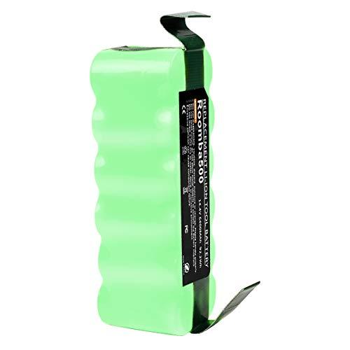 Bonadget 14.4V 6400mAh Li-Ion Batería de Repuesto para iRobot Roomba 500 600 700 800 Series 530 531 532 535 536 540 550 552 560 570 580 595 620 650 660 760 770 780 790 870 980