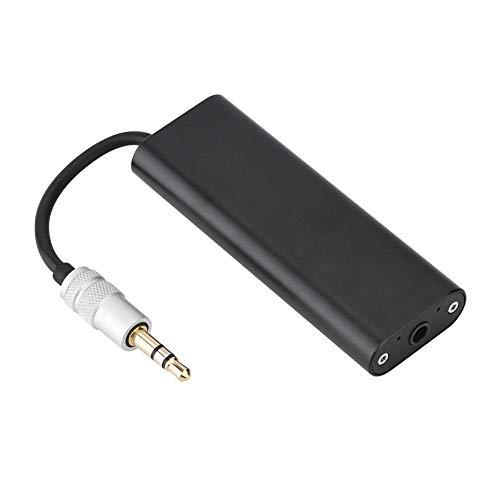 Auriculares Amplificador - Amplificador portátil HiFi HiFi Negro portátil de 3,5 mm for Auriculares estéreo Amplificador de Sonido for el teléfono móvil