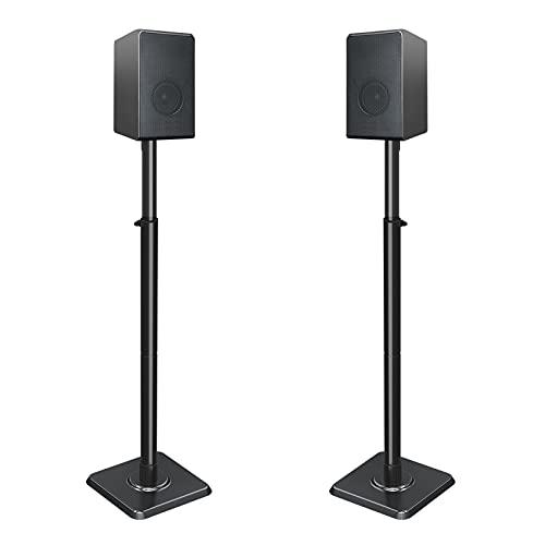 Mounting Dream Speaker Stands for Satellite & Small Bookshelf Speakers - Set of...