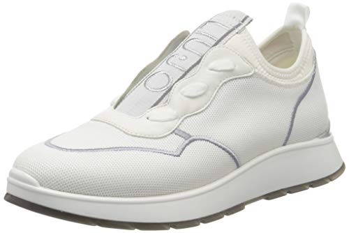 LIU JO Shoes Asia 04-Slip On, Zapatillas para Mujer, Blanco (White 01111), 36 EU