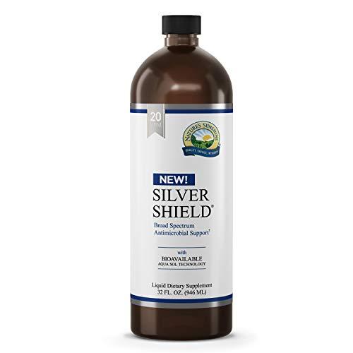 Nature's Sunshine Silver Shield Liquid, 32 Fl Oz