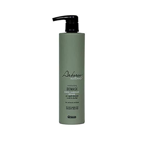 Arborea Bio-Maske 500 ml Spendet Feuchtigkeit, pflegt & entwirrt alle Haartypen