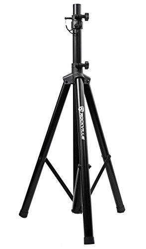 Rockville RVES05 Black Heavy Duty Tripod Pole-Mount DJ PA Speaker Stand