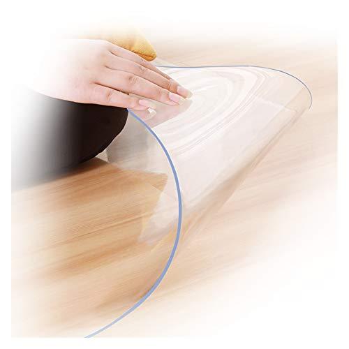 ALGXYQ Alfombras Transparentes Resistente A Los Arañazos Alfombrillas para Sillas Alfombrilla Protección para Madera/Baldosas para La Decoración Cocina Hogar (Color : 1.5mm, Size : 80x100cm)