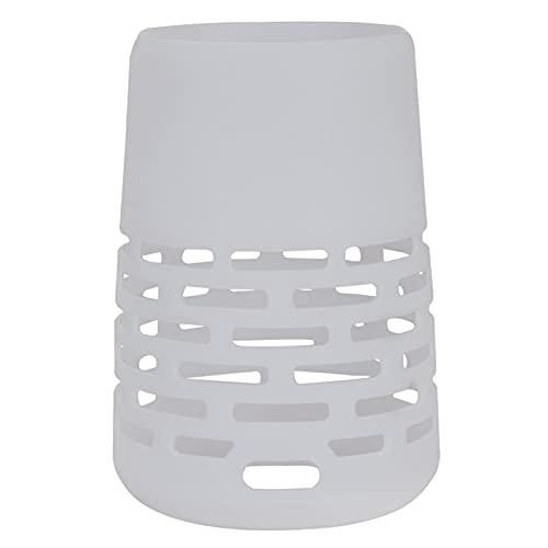 B Blesiya Custodia Protettiva in Silicone Durevole Portatile per Altoparlante Bluetooth + Plus (l'altoparlante Non è Incluso) - Bianca