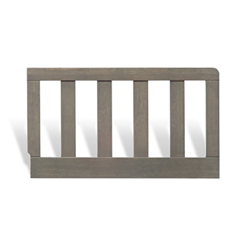 Child Craft Todder Bed Guard Rail for Sidney Crib, Dapper Grey Finish