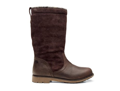 OLUKAI Haleakala Suede Boot - Women's French Roast/French Roast 9.5