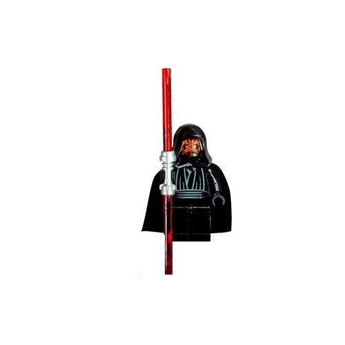 LEGO Star Wars - Minifigur Darth Maul mit rotem Doppel-Laserschwert