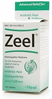 Heel Zeel, Homeopathic Arthritic Pain Relief Tablets 100 ea