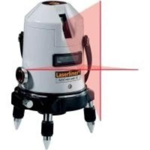 Laserliner Autocross 2C Kreuzlinien-Laser mit 2 Laserlinien und zusätzlichem Lotlaser, Hellgrau-schwarz, 110 x 185 x 115 mm (B x H x T)