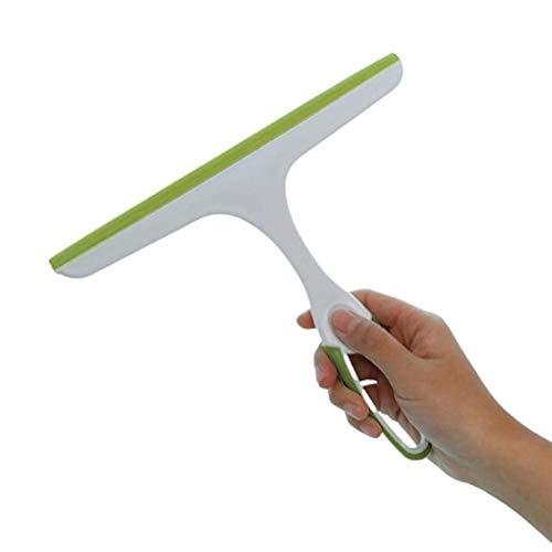 zhoufeng El Vidrio de Ventana del Limpiador del Limpiador de jabón Suave de Silicona lámina de Limpiador del Parabrisas Ducha Espejo de baño del hogar Limpieza for la casa (Colore : Green)