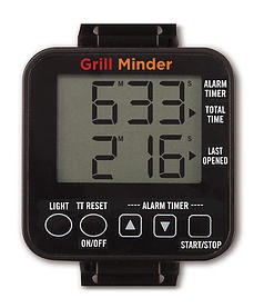 Grill Minder - Never Forget How Long Your Food Has Been On The Grill!