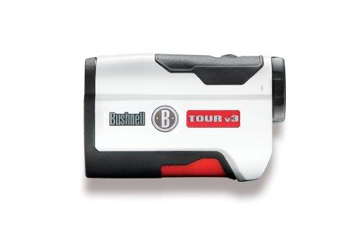 Bushnell Tour V3Entfernungsmesser Golf-Unisex Erwachsene, Weiß