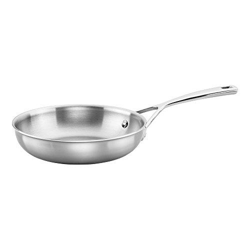 ZWILLING J.A. Henckels 66088-200 Fry Pan, Stainless Steel, Silver