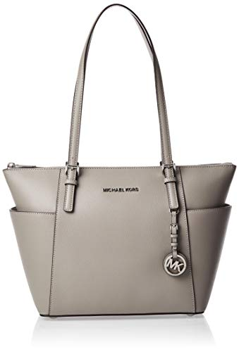 Michael Kors Damen Jet Set Item Tote, Grau (Pearl Grey), 11.4x25.4x38.1 centimeters
