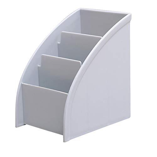 Schreibtisch-Organizer mit 3 Fächern, Tisch-TV-Controller-Halter, Organizer und Aufbewahrung, Schreibtisch-Stiftehalter, Schlüssel-Organizer, Schreibtischzubehör