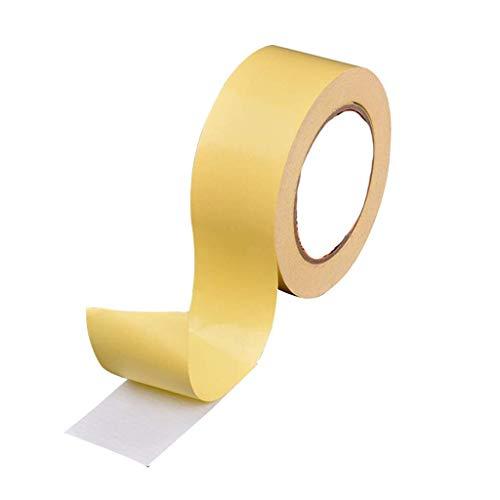SXYULQQZ Doek Dubbelzijdig Tape 2 Roll 36mm X 20m Naadloos Tapijt Lijm Naad Dubbelzijdig Tape Vloer Lederen Auto Dubbelzijdig Tape