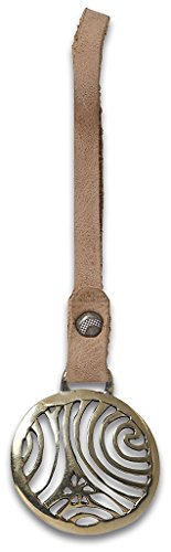 NOOSA ORIGINAL Taschenanhänger TRISPIRAL messing