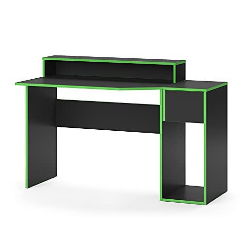 Vicco Gaming Desk Schreibtisch Kron Gamer PC Tisch Computertisch Bürotisch Set (Computertisch Set 2)