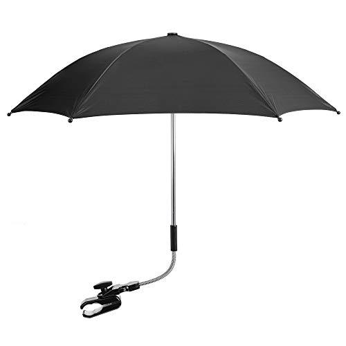 Universal Baby Parasol to Fit Joie Stroller Buggy Pram Black