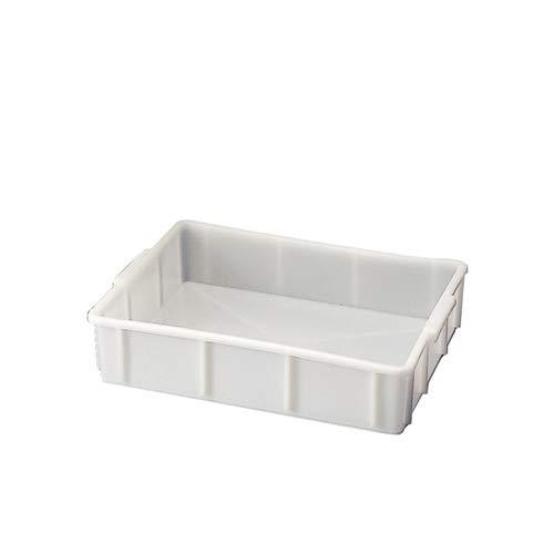 Kartell PK/542 - Bandeja apilable de baja profundidad, HDPE, color blanco, capacidad de 10 L: Amazon.es: Amazon.es