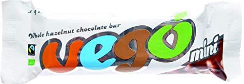 Vego Mini - Whole Hazelnut Chocolate Bar 65g (Pack of 15)
