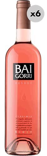 Baigorri Rosé, Vino Rosado 6 Botellas, 75 cl