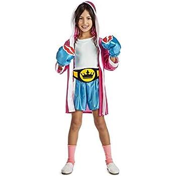 Disfraz de Boxeadora para niña: Amazon.es: Juguetes y juegos