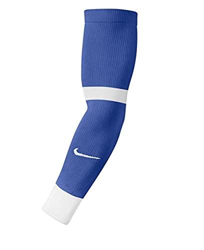 NIKE MatchFit Leg Warmers, Unisex-Adult, Royal Blue/White, S/M